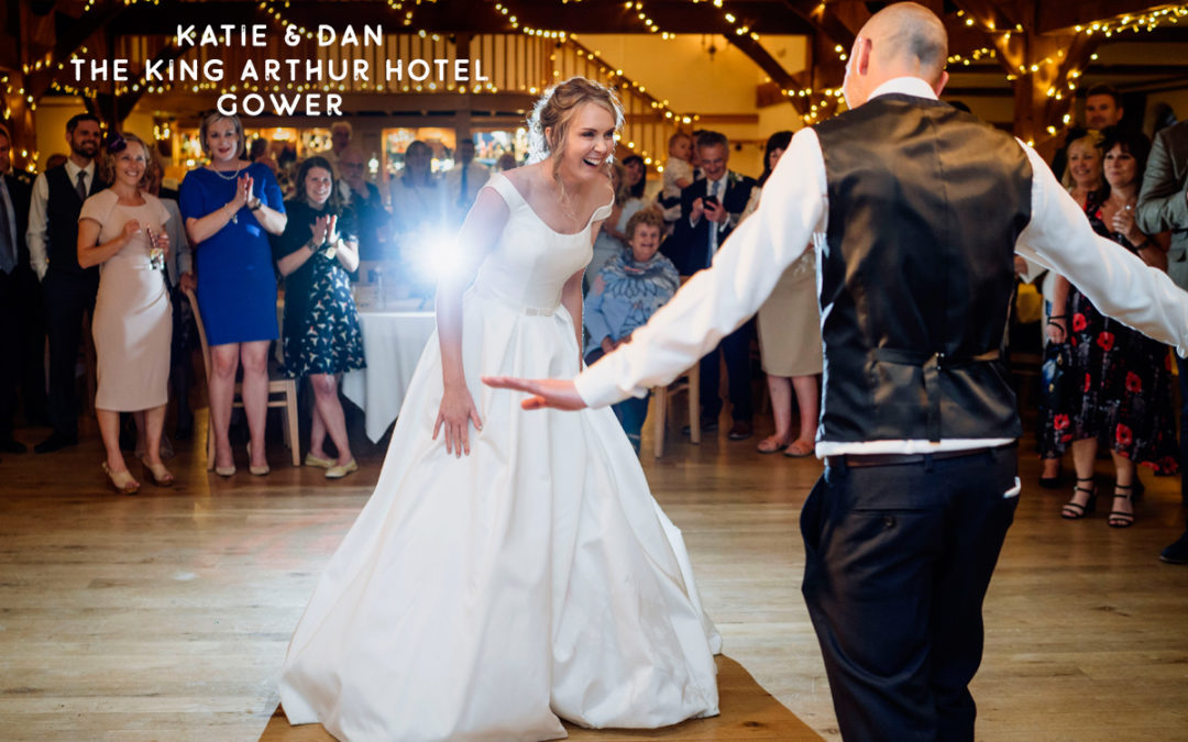 South Wales summer Gower wedding photographer King Arthur Hotel