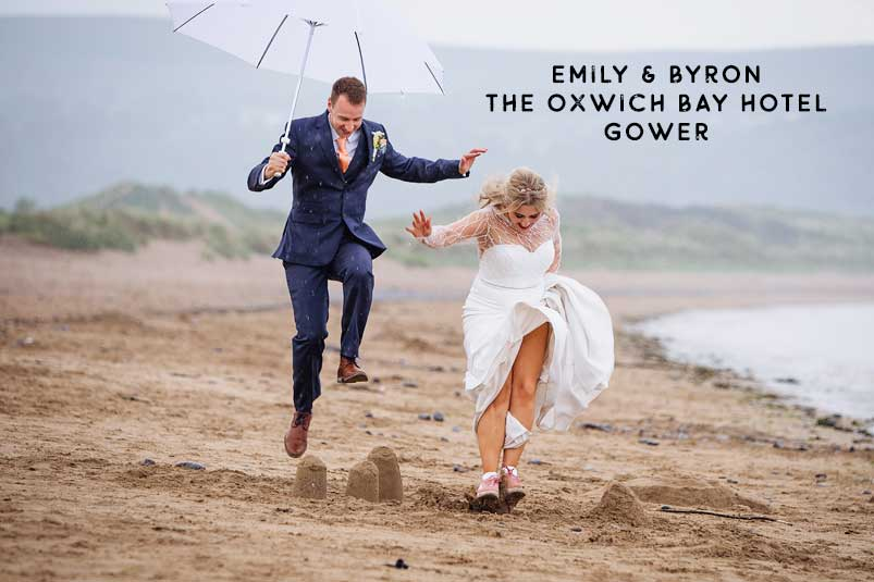 Oxwich Bay Hotel summer wedding South Wales