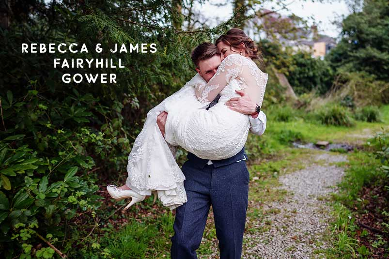 Fairyhill Gower Swansea South Wales wedding photographer