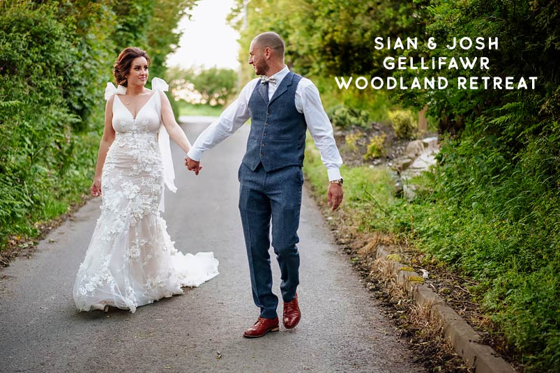 Gellifawr Woodland Retreat summer wedding