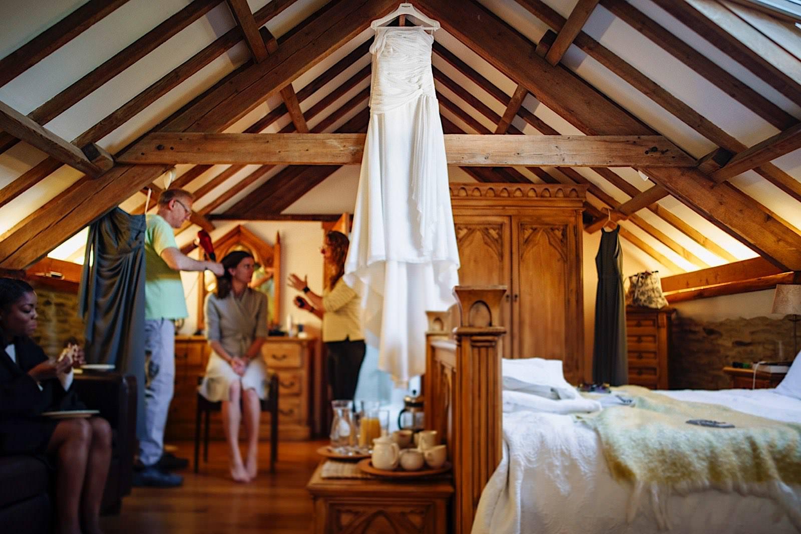 wedding photography at Jabajak Vineyard West Wales