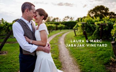 Jabajak Vineyard sunny outdoor wedding