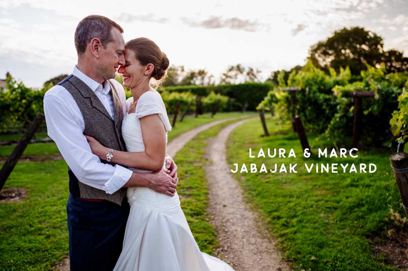 Jabajak Vineyard wedding venue