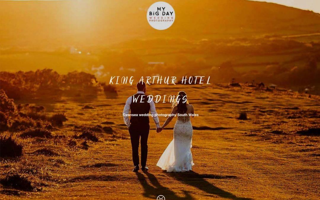 KING ARTHUR HOTEL WEDDING PHOTOGRAPHER SWANSEA