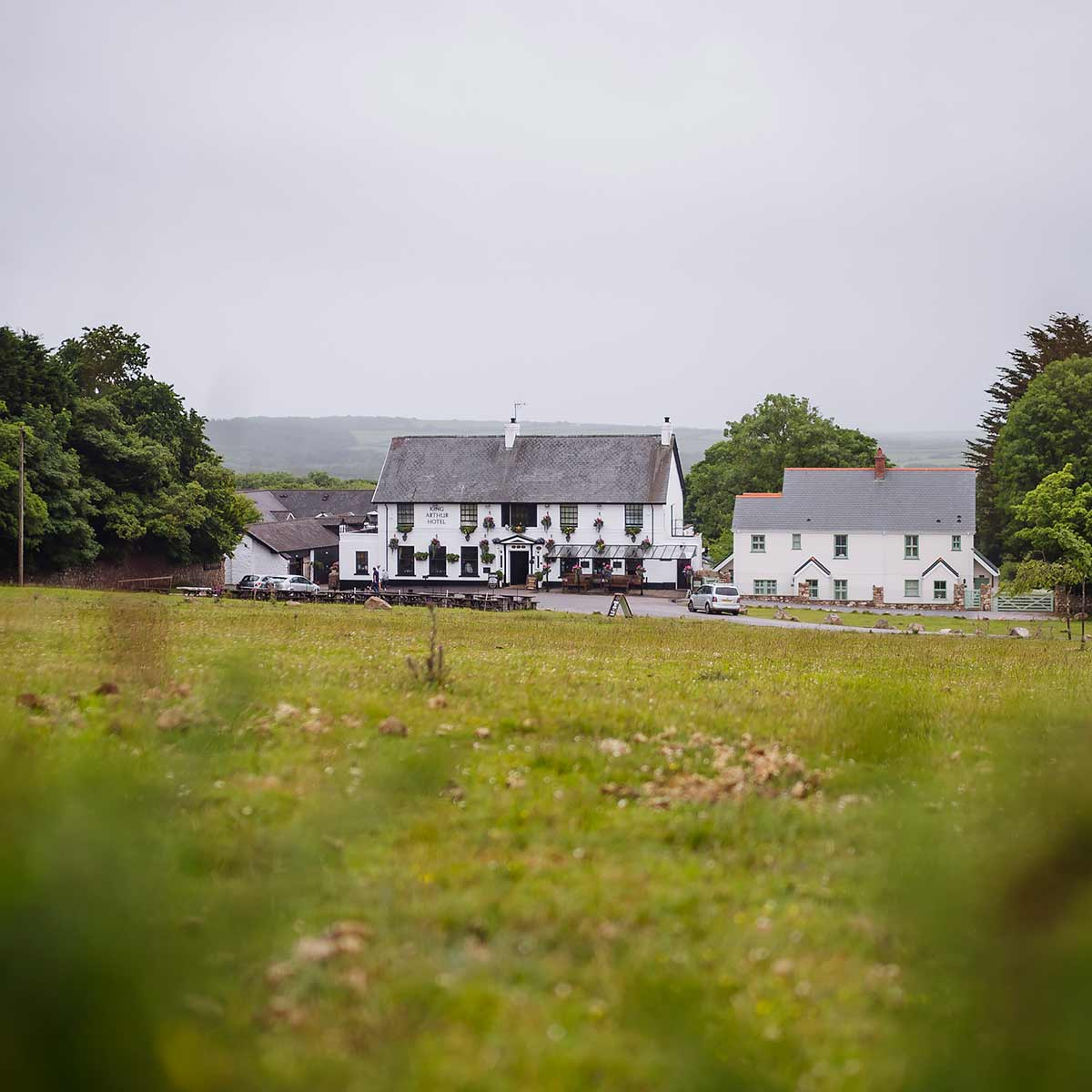 king arthur hotel gower rustic countryside wedding venue South Wales