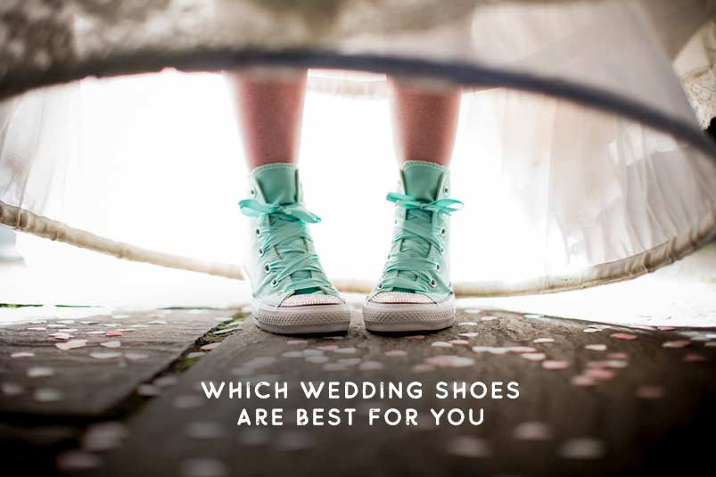 which wedding shoes are best for me